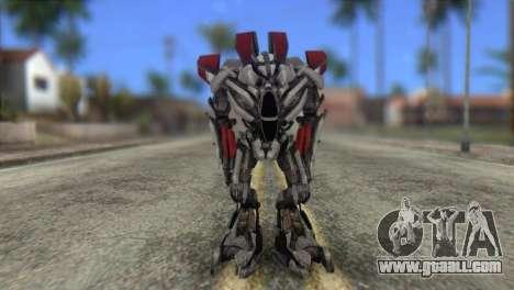 Air Raide Skin from Transformers for GTA San Andreas