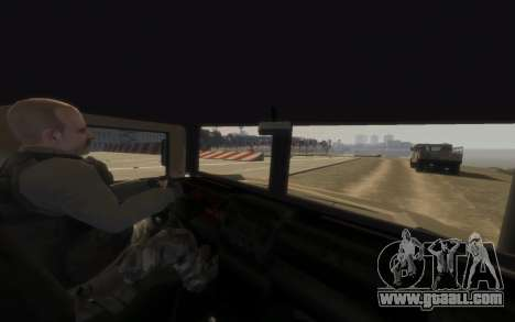 GTA 5 Millitary Patriot for GTA 4 back left view