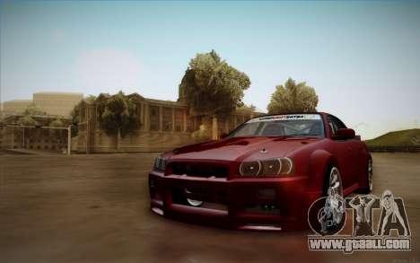 Nissan Skyline (ER34) 2015 for GTA San Andreas
