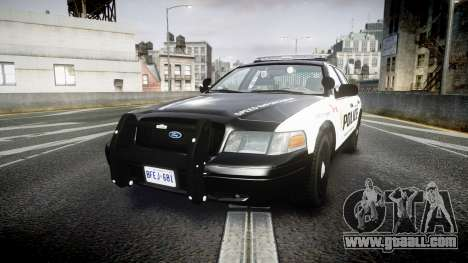 Ford Crown Victoria Alderney Police for GTA 4