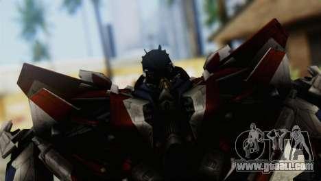 Starscream Skin from Transformers v1 for GTA San Andreas