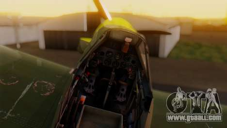 Messerschmitt Bf-109 E3 for GTA San Andreas right view