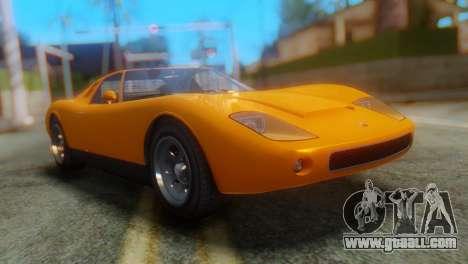 GTA 5 Pegassi Monroe for GTA San Andreas