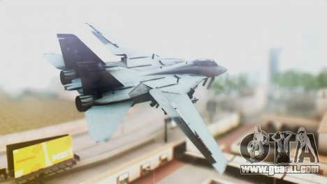 F-14D VF-2 Bounty Hunters for GTA San Andreas left view
