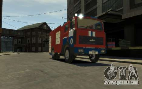 MAZ 533702 the Ministry of emergency situations  for GTA 4 left view