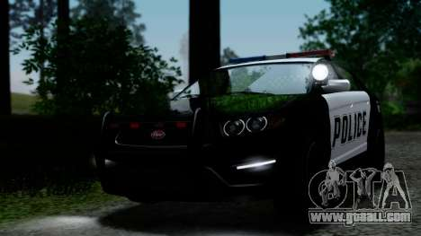 GTA 5 Vapid Police Interceptor v2 IVF for GTA San Andreas side view