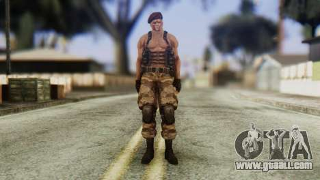 Jack Krauser Skin from Resident Evil for GTA San Andreas second screenshot