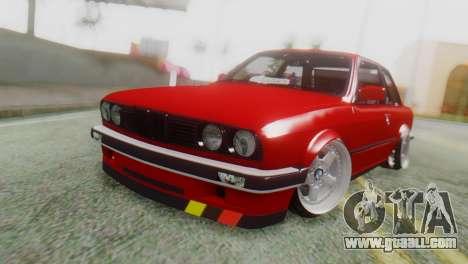BMW M3 E30 B. O. Construction for GTA San Andreas
