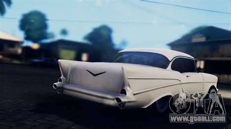 Chevrolet Bel Air 1957 FF Style for GTA San Andreas left view