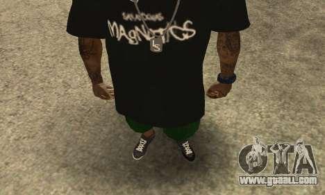 Groove St. Nigga Skin The Third for GTA San Andreas second screenshot