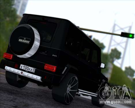 Brabus B65 Angry for GTA San Andreas right view