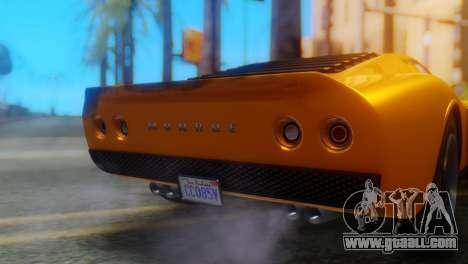 GTA 5 Pegassi Monroe for GTA San Andreas back view