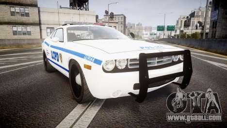Dodge Challenger LCPD [ELS] for GTA 4
