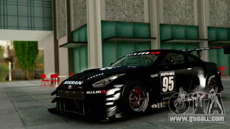 Nissan GT-R (R35) GT3 2012 PJ1 for GTA San Andreas inner view