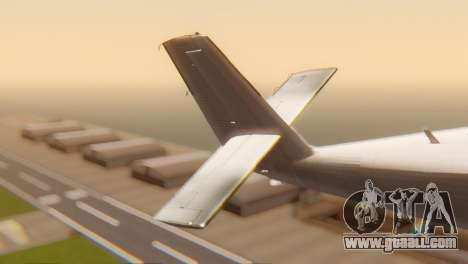 DHC-6-300 Twin Otter for GTA San Andreas back left view