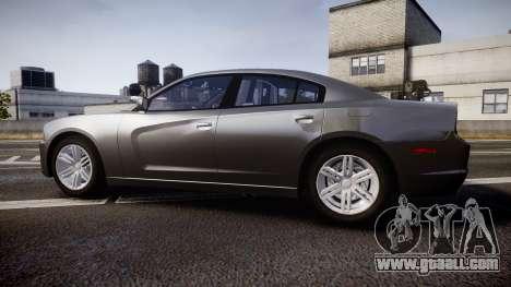 Dodge Charger Traffic Patrol Unit [ELS] rbl for GTA 4 left view