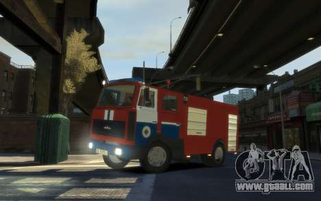 MAZ 533702 the Ministry of emergency situations  for GTA 4