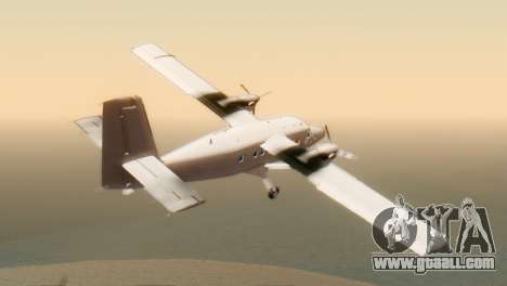 DHC-6-300 Twin Otter for GTA San Andreas left view