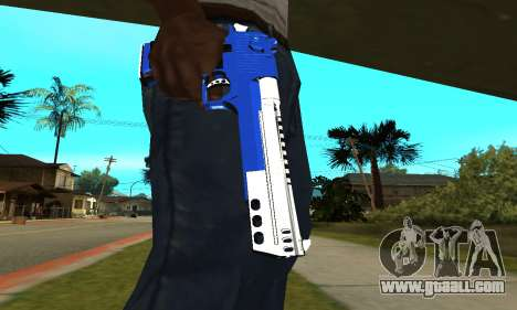 Blue Cool Deagle for GTA San Andreas