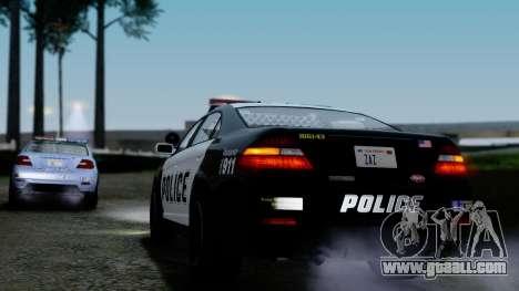 GTA 5 Vapid Police Interceptor v2 IVF for GTA San Andreas bottom view