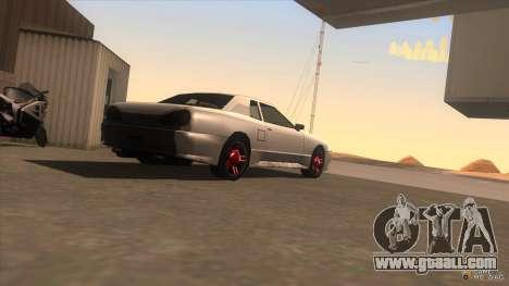 Super Elegy for GTA San Andreas left view
