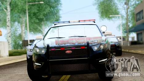 GTA 5 Vapid Police Interceptor v2 IVF for GTA San Andreas