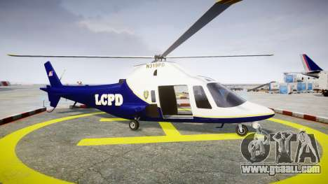Buckingham Swift LCPD for GTA 4 left view