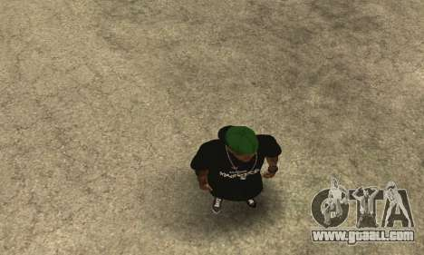 Groove St. Nigga Skin The Third for GTA San Andreas fifth screenshot