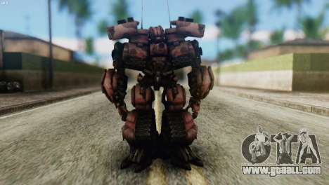 Watpath Skin from Transformers for GTA San Andreas second screenshot