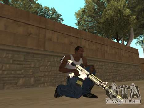 Chameleon Weapon Pack for GTA San Andreas forth screenshot