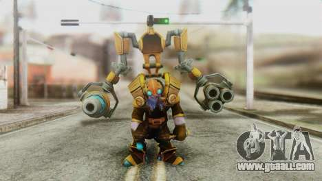 Tinker Skin from DoTA 2 for GTA San Andreas second screenshot