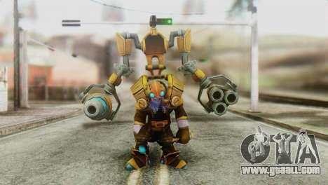 Tinker Skin from DoTA 2 for GTA San Andreas second screenshot