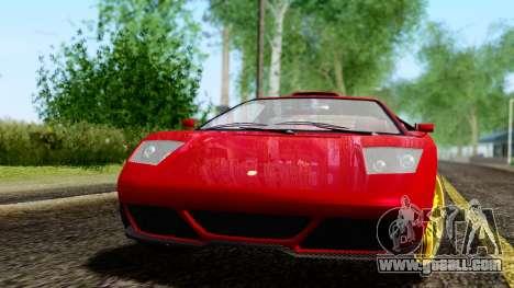 Pegassi Infernus Cento Miglia for GTA San Andreas