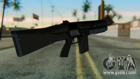Assault Shotgun GTA 5 v1 for GTA San Andreas second screenshot