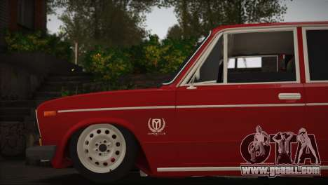 VAZ 2106 MansorY for GTA San Andreas back left view