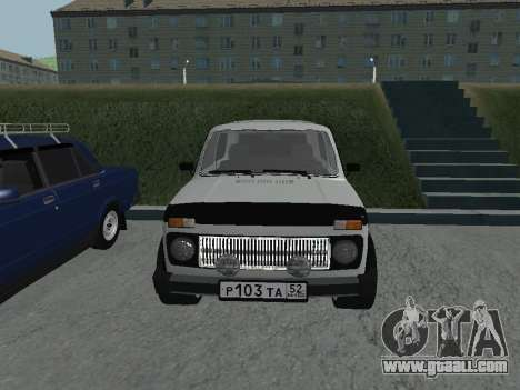 VAZ 2121 Niva for GTA San Andreas left view
