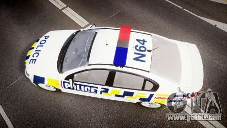 Holden VE Commodore SS Police HWP [ELS] for GTA 4 right view