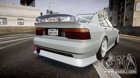 Maibatsu Vincent 16V Sport for GTA 4 back left view