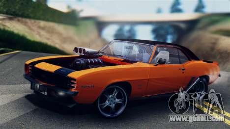 Chevrolet Camaro SS Dragster for GTA San Andreas