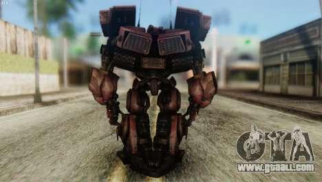 Watpath Skin from Transformers for GTA San Andreas third screenshot