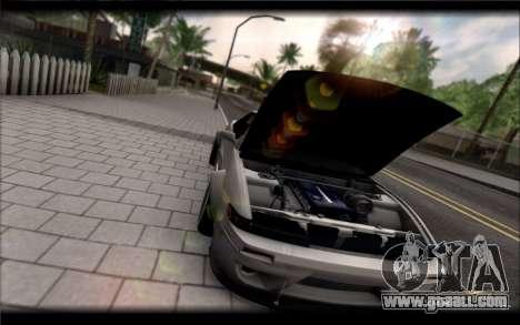 Nissan Silvia S13 Rocket Bunny for GTA San Andreas back left view