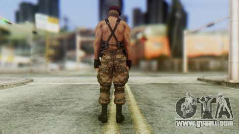 Jack Krauser Skin from Resident Evil for GTA San Andreas third screenshot