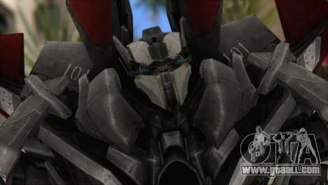 Air Raide Skin from Transformers for GTA San Andreas third screenshot