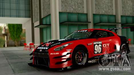 Nissan GT-R (R35) GT3 2012 PJ1 for GTA San Andreas side view