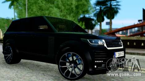 Range Rover Vogue Lumma Stratech for GTA San Andreas left view