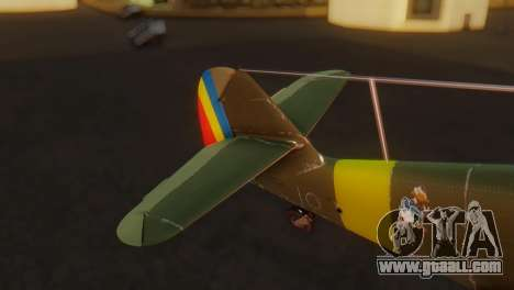 Messerschmitt Bf-109 E3 for GTA San Andreas