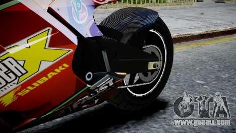 Bike Bati 2 HD Skin 1 for GTA 4 back view