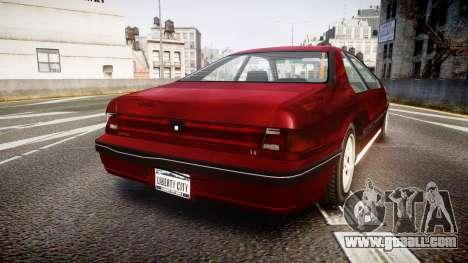 Vapid Fortune Beater for GTA 4 back left view