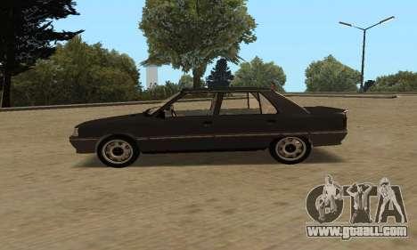 Renault 9 TSE 1992 for GTA San Andreas back left view