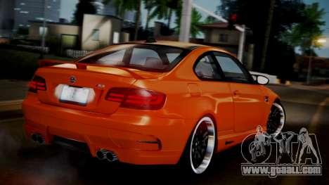 BMW M3 E92 Hamman for GTA San Andreas left view